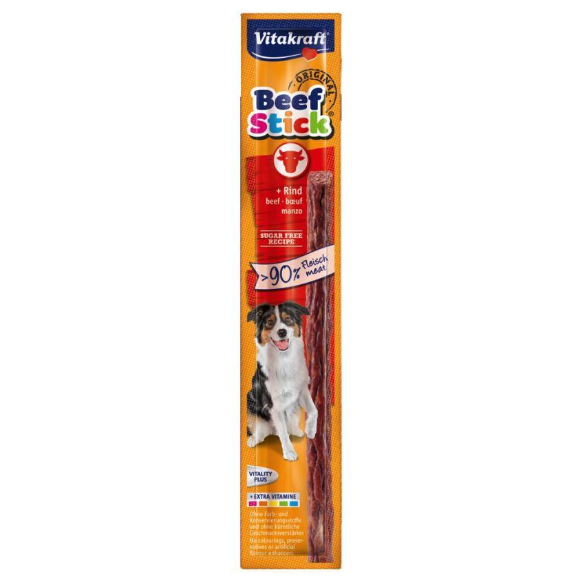 Vitakraft Beef-Stick® 25 x 12 g pour chien - gibier