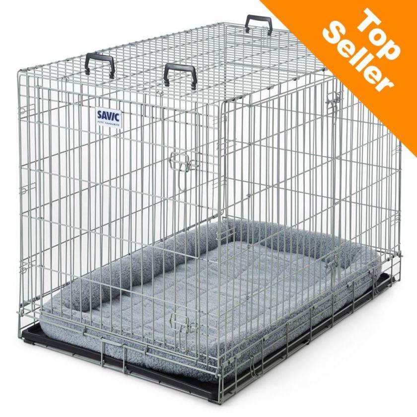 Cage Dog Residence Savic avec coussin pour chien l76 P118 H88 cm - Cage métallique pour Chien