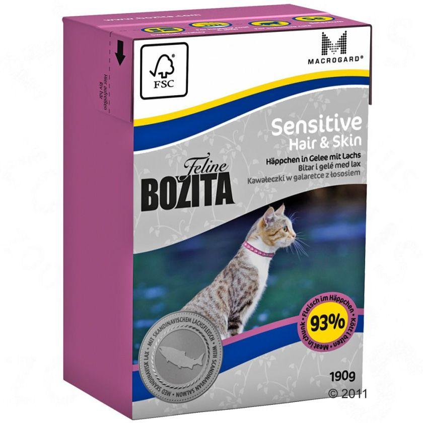 Bozita Feline en gelée 6 x 190 g - Indoor & Sterilised