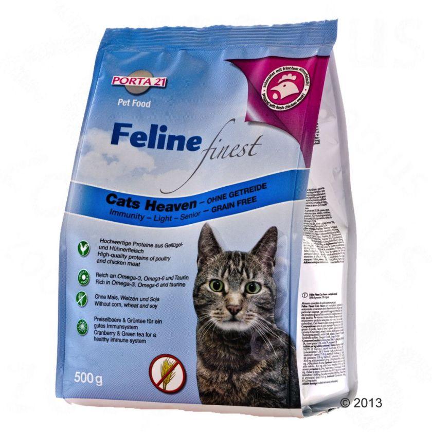 2x10kg Feline Finest Cats Heaven Porta 21 - Croquettes pour Chat