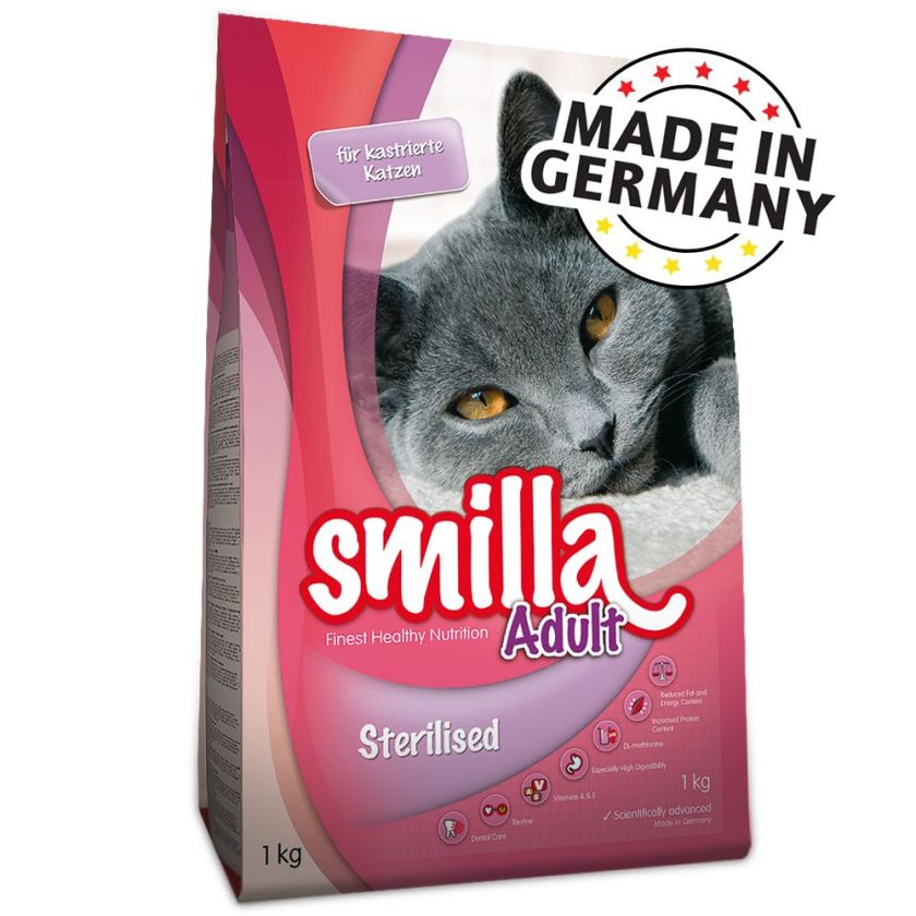 Smilla Adult Sterilised pour chat - 10 kg