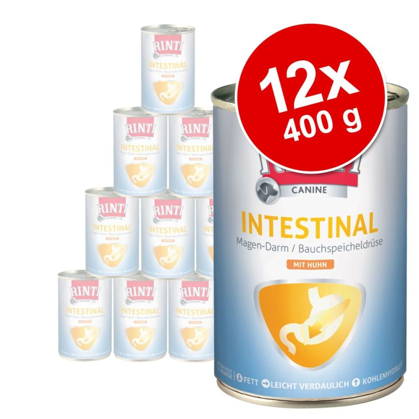 Lot RINTI Canine 12 x 400 g pour chien - Mobility