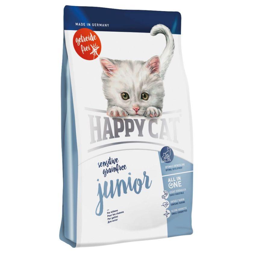 animalerie happy cat sensitive grainfree junior pour. Black Bedroom Furniture Sets. Home Design Ideas