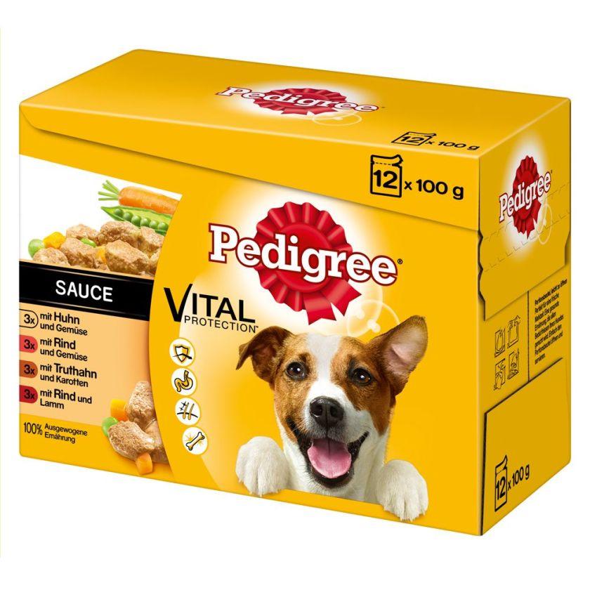 24x100g Sachets en gelée Pedigree - Nourriture pour chien