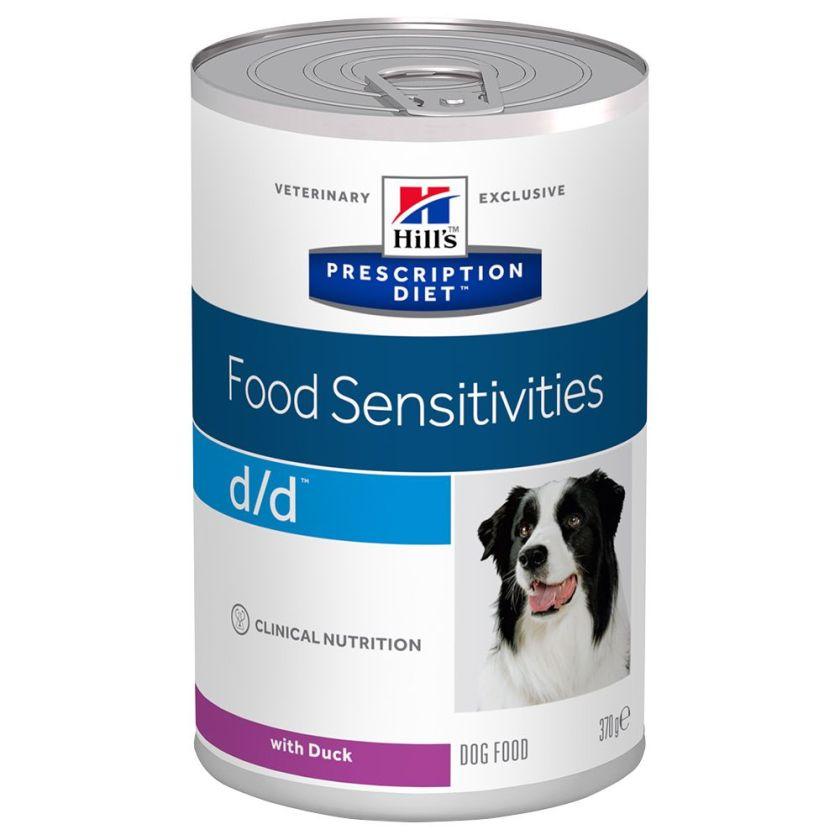 Hill´s Prescription Diet d/d Food Sensitivities - 12 x 370 g (saumon)