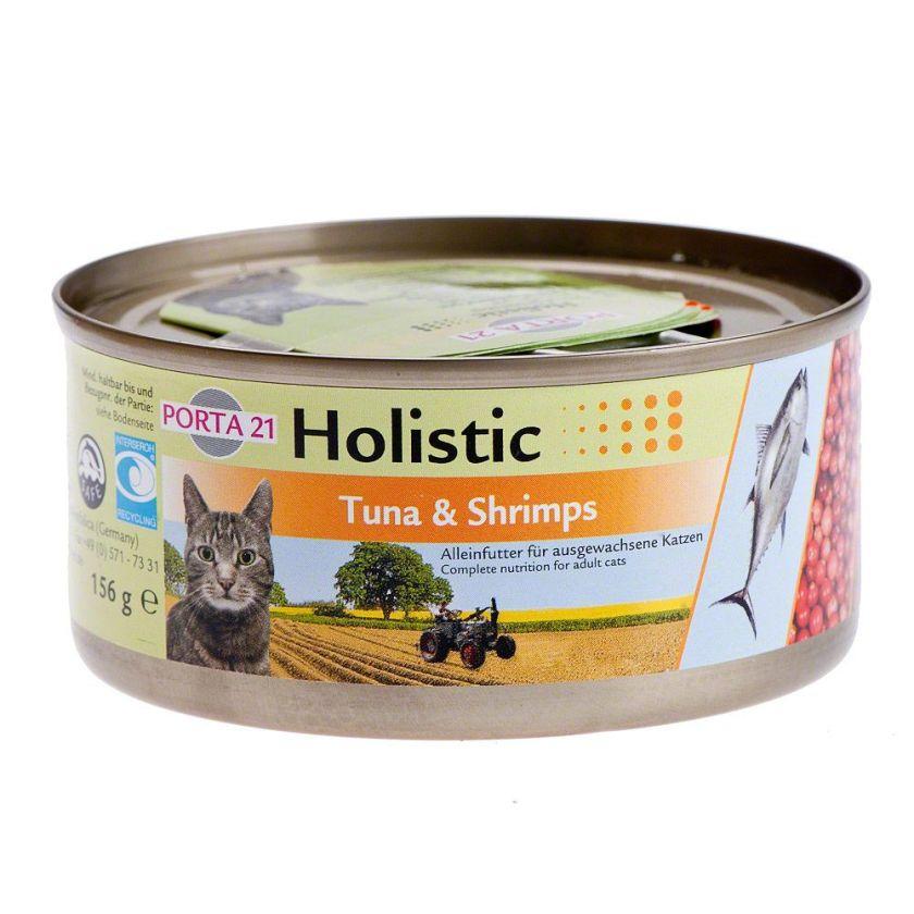 6x156g Holistic thon / poulet Porta 21 - Nourriture pour Chat