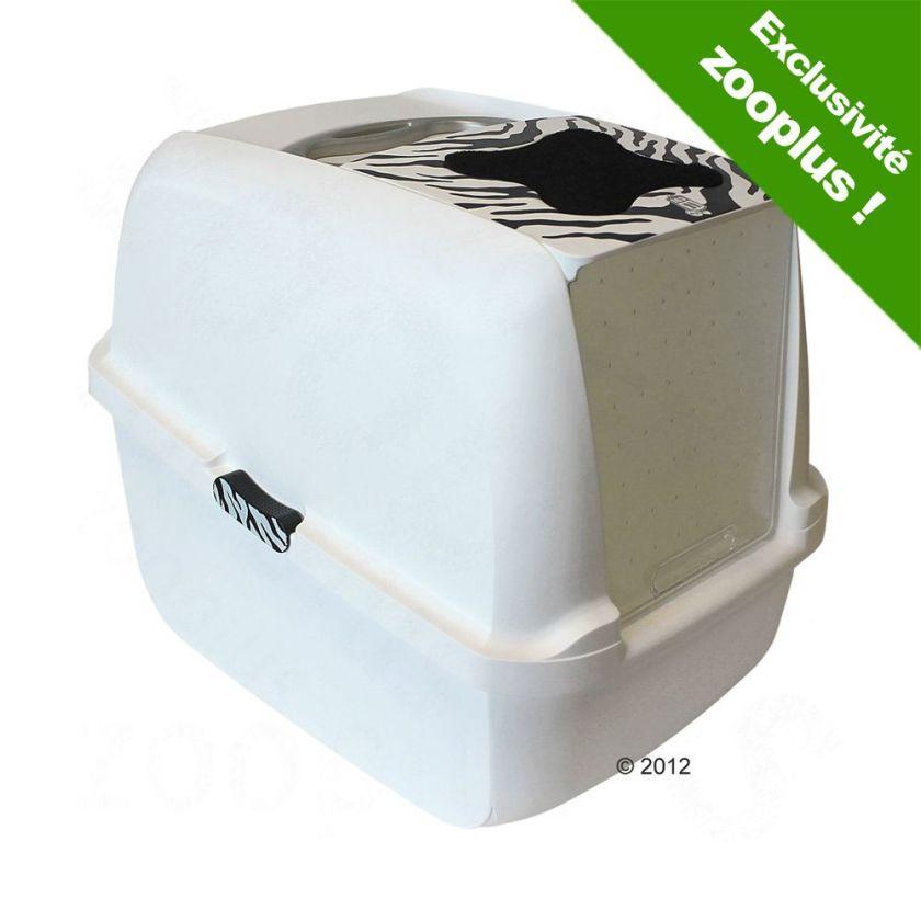 Maison de toilette Catit White Tiger pour chat - 8 filtres de rechange