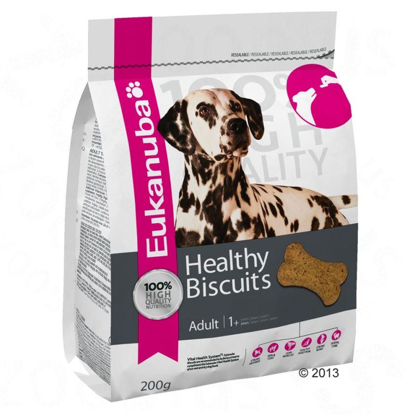 Eukanuba Healthy Biscuits pour chien - Puppy & Junior (200 g)