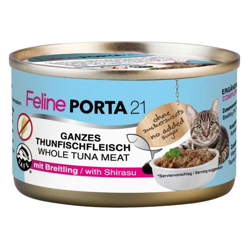 6x90g poulet / aloe vera Porta 21 - Nourriture pour Chat