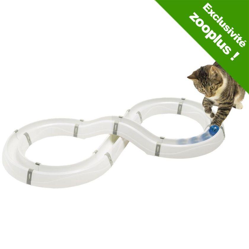 Circuit de jeu Flashlight pour chat - 2 balles lumineuses Catit de rechange (coloris : vert)