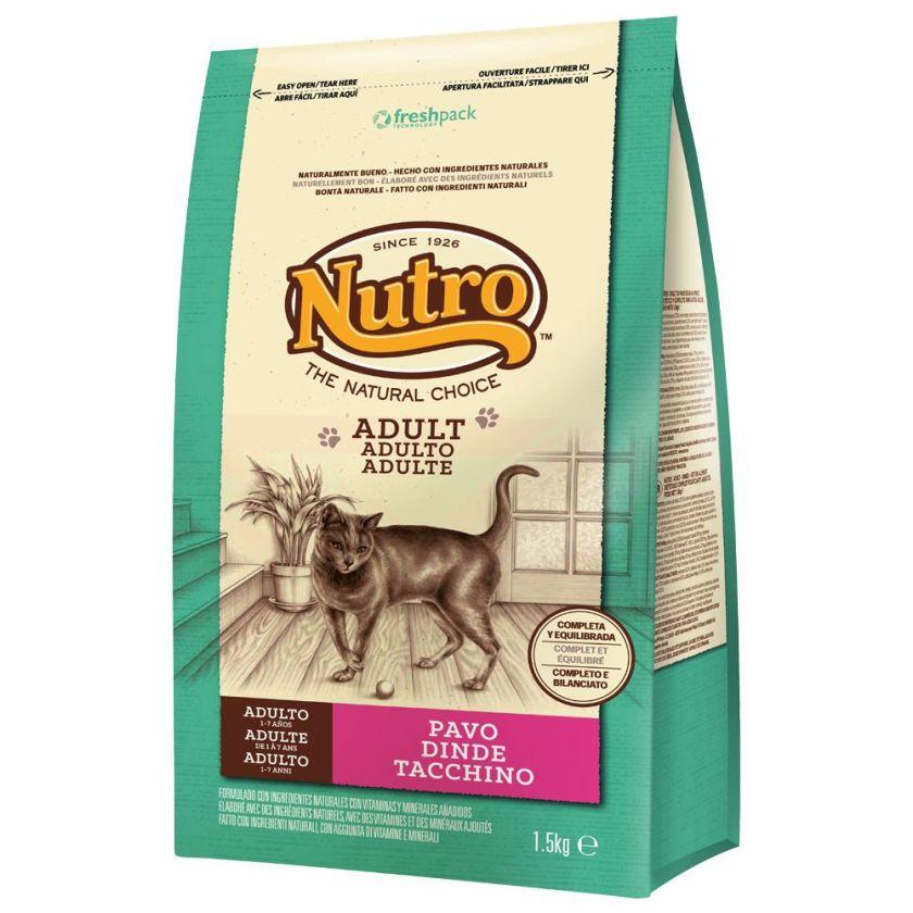 1,5kg Adult dinde Nutro Natural Choice - Croquettes pour Chat