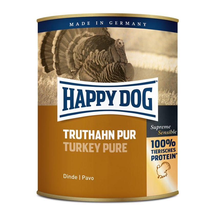 6x800g pur gibier Happy Dog - Nourriture pour chien