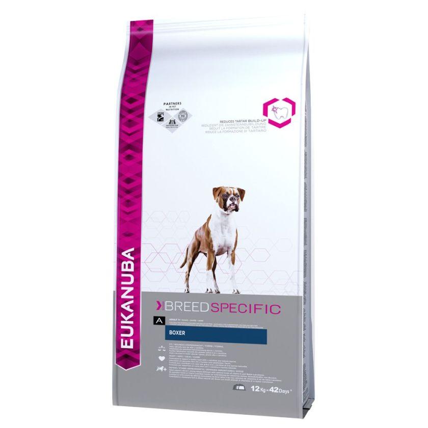 Eukanuba Adult Breed Specific Boxer pour chien - 2 x 12 kg