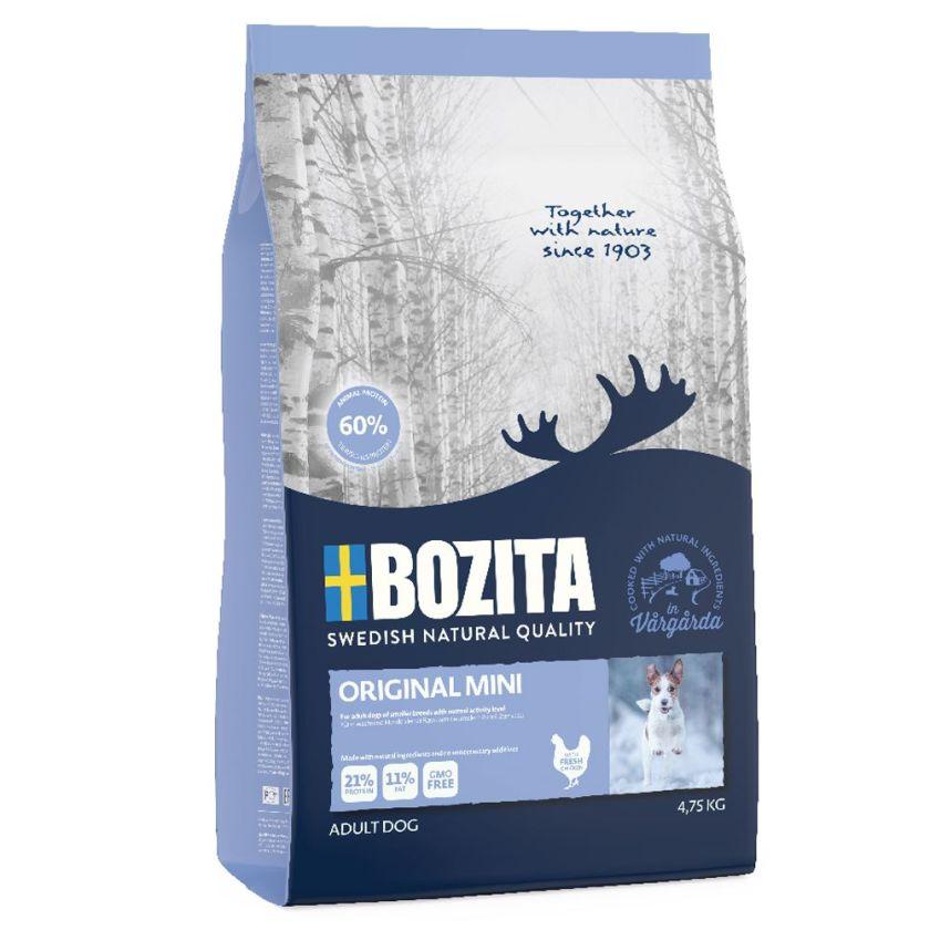 4,75kg Original Mini Bozita - Croquettes pour Chien