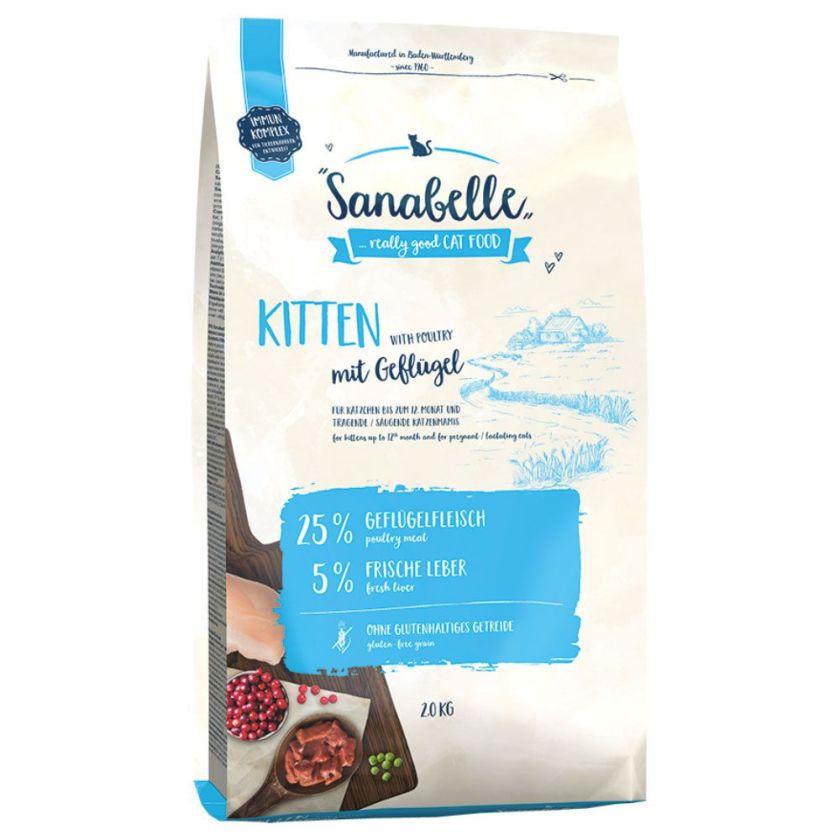 2kg Kitten Sanabelle - Croquettes pour Chat