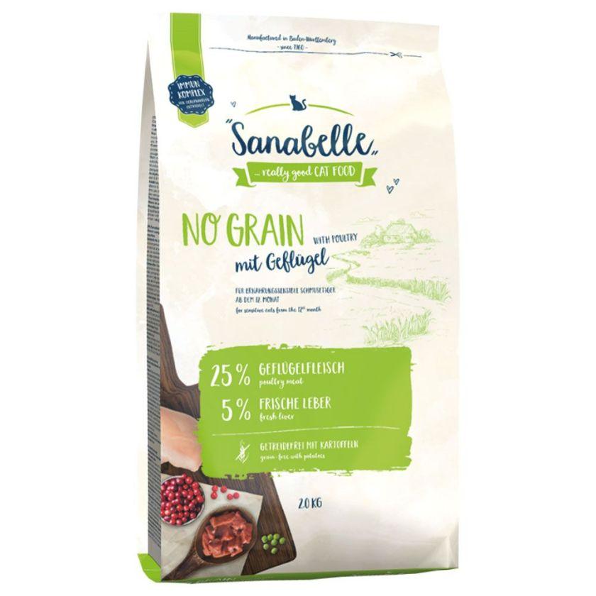 10kg No Grain Sanabelle pour chat