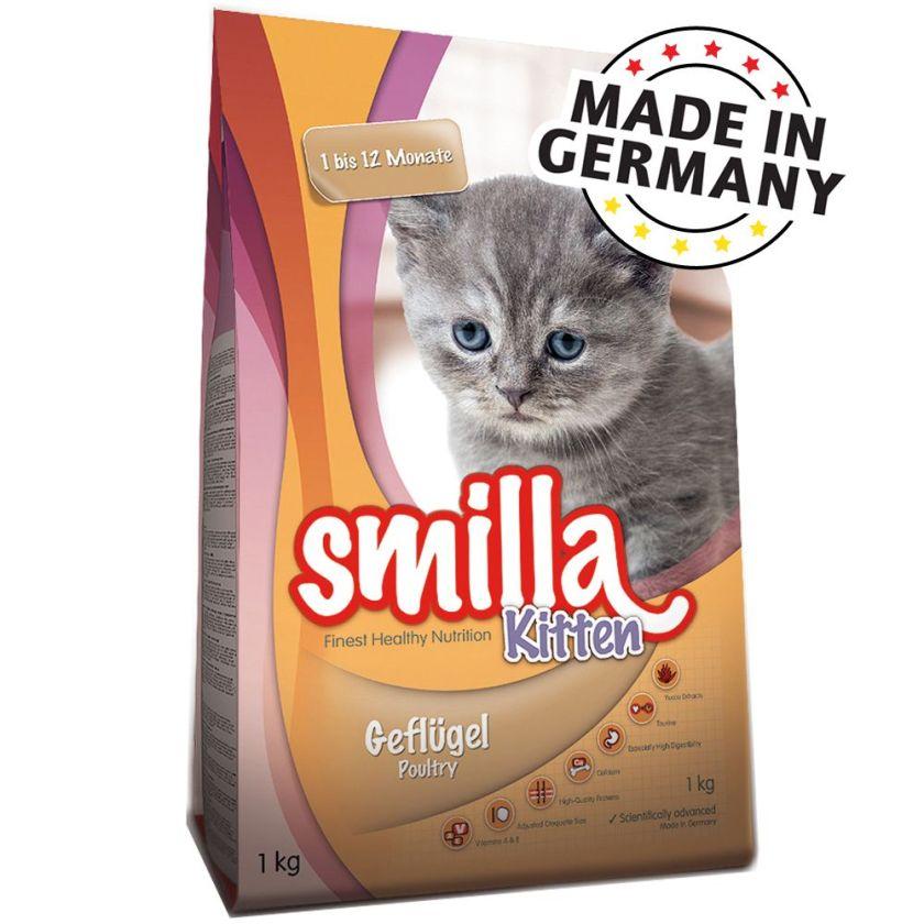 6x200g boîtes Smilla Kitten au poulet Kitten Smilla - Boîtes pour Chat