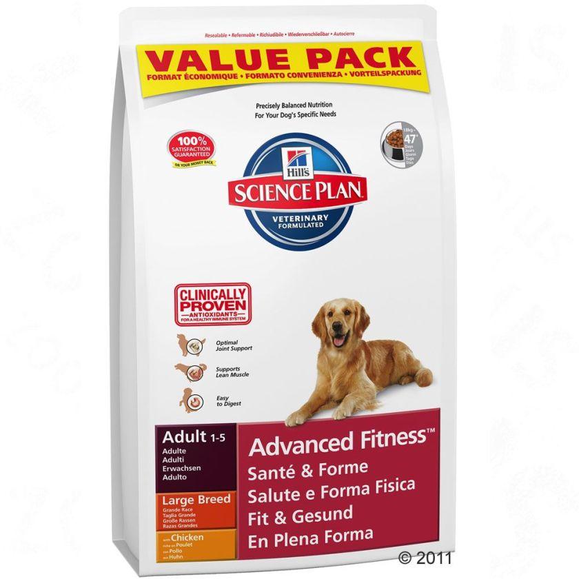 18kg Mature Adult 5+ Active Longevity Large Breed poulet Hill's Canine Croquettes pour chien