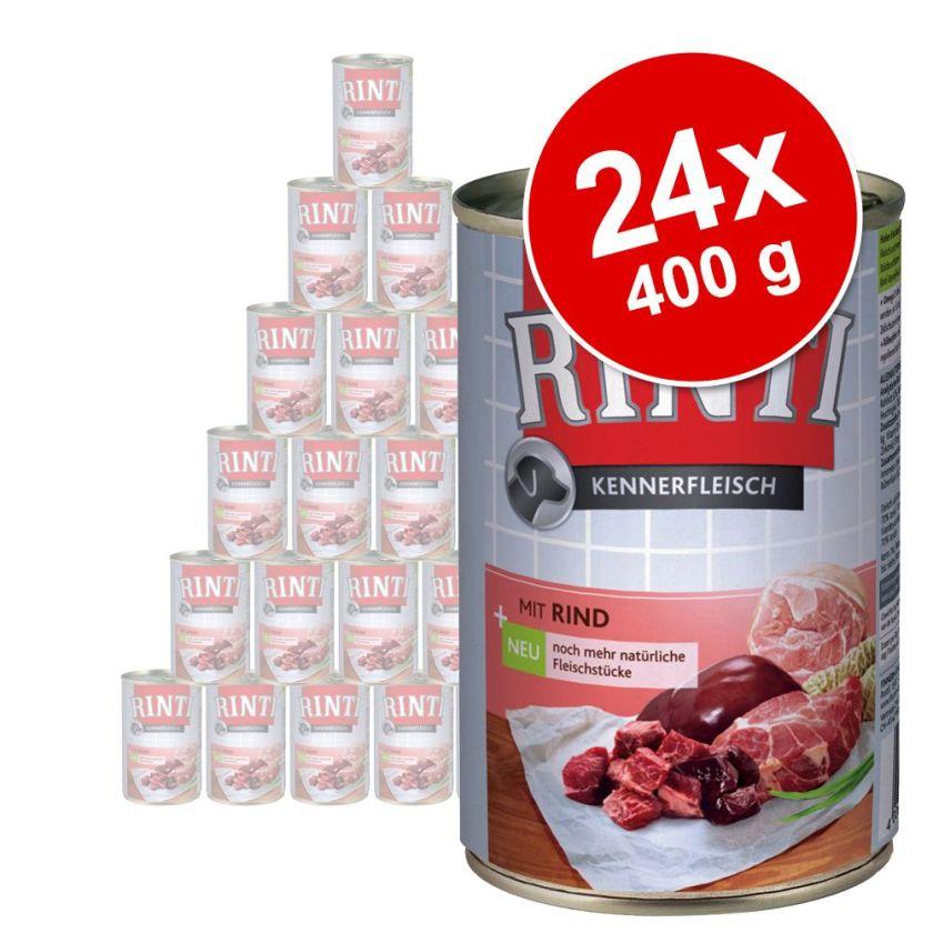 24x400g agneau Rinti - Nourriture pour chien