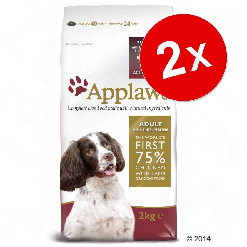 Lot Applaws 2 x 7,5 kg ou 15 kg - Puppy Small & Medium Breed, poulet (2 x 15 kg)