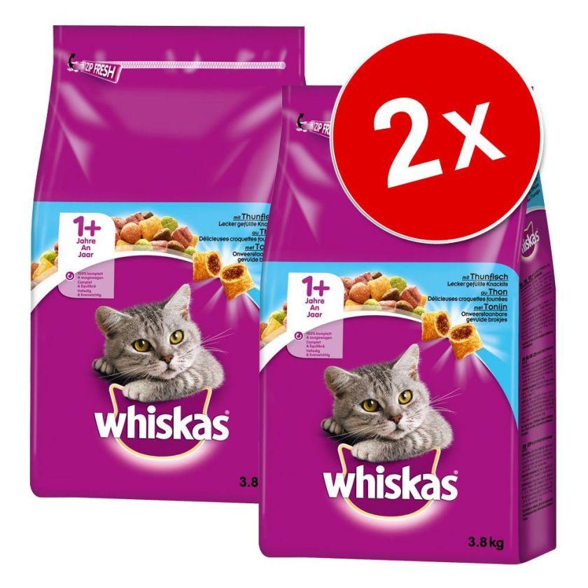 2x800g Whiskas 1+ bœuf - Nouriture pour chat