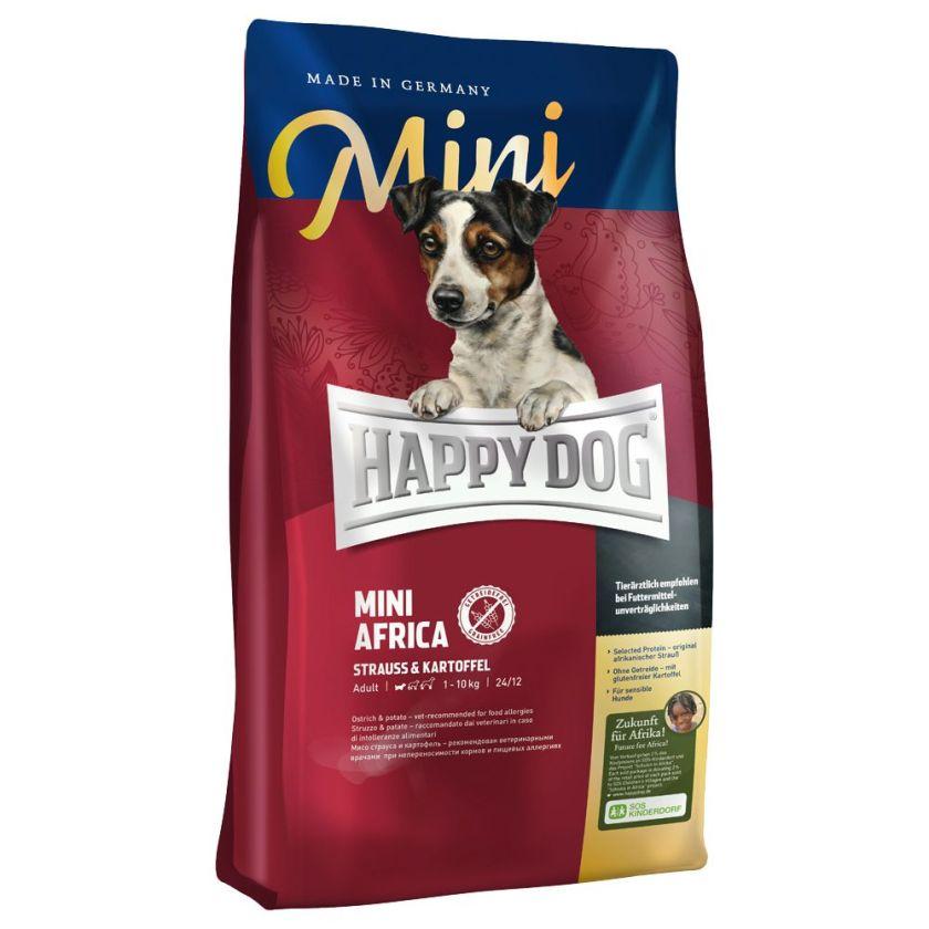 Happy Dog Supreme Mini Afrique pour chien - 2 x 4 kg
