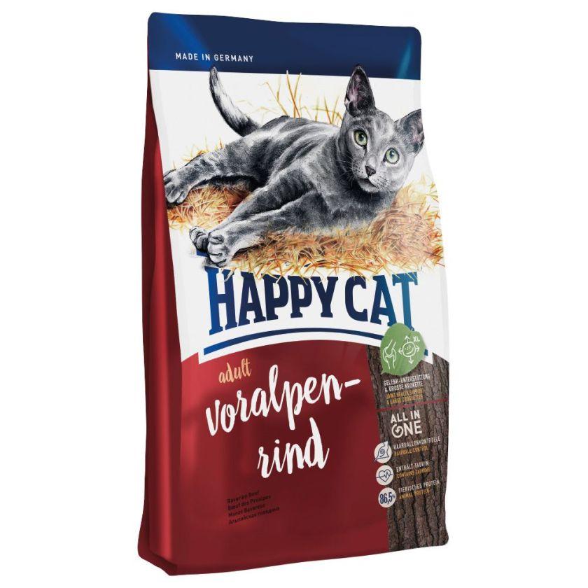 Happy Cat Adult, bœuf des Préalpes pour chat - 2 x 10 kg