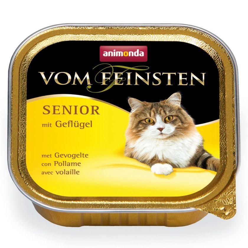 6x100g Senior volaille Animonda - Nourriture pour Chat