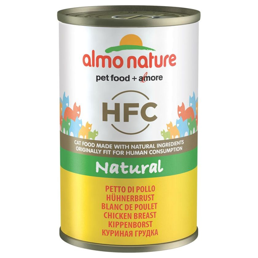 6x140g poulet / crevettes Almo Nature Classic - Nourriture pour Chat