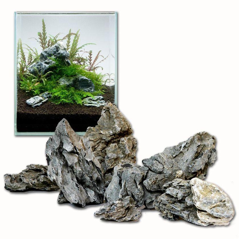 Mini paysage de pierres Seiryu pour aquarium - kit 80 cm : 11 pierres naturelles, 8 kg environ