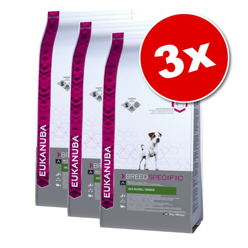 Eukanuba Breed Jack Russell Terrier - Croquettes pour chien - 3 x 2 kg