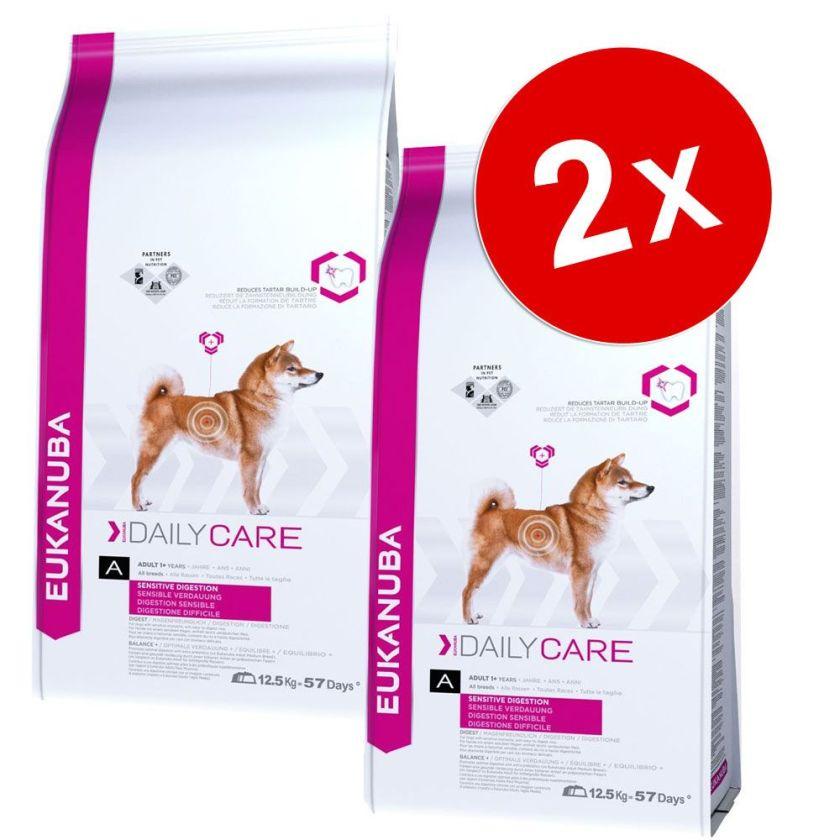 Lot Eukanuba Breed et Daily Care, x 2 pour chien - Labrador Retriever (2 x 12 kg)