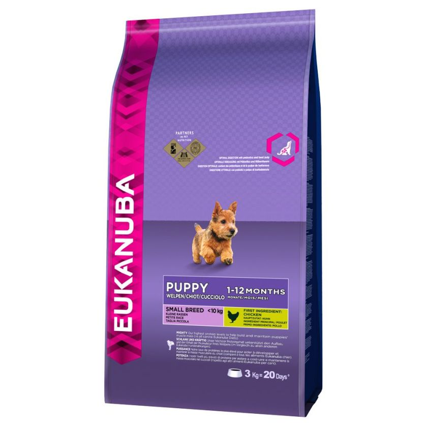 Eukanuba Puppy Small Breed poulet pour chiot - 7,5 kg