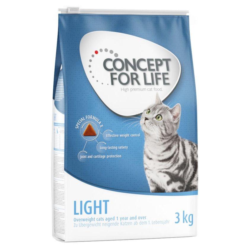 9kg Light Adult Concept for Life - Croquettes pour Chat