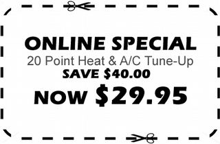 Online Special - Tune-Up on Air Conditioners in the Tampa Bay area