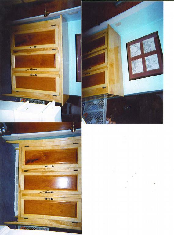 HARD MAPLE N CHERRY by Ray Gary D Custom Woodworking/Cabinets/Finish ...
