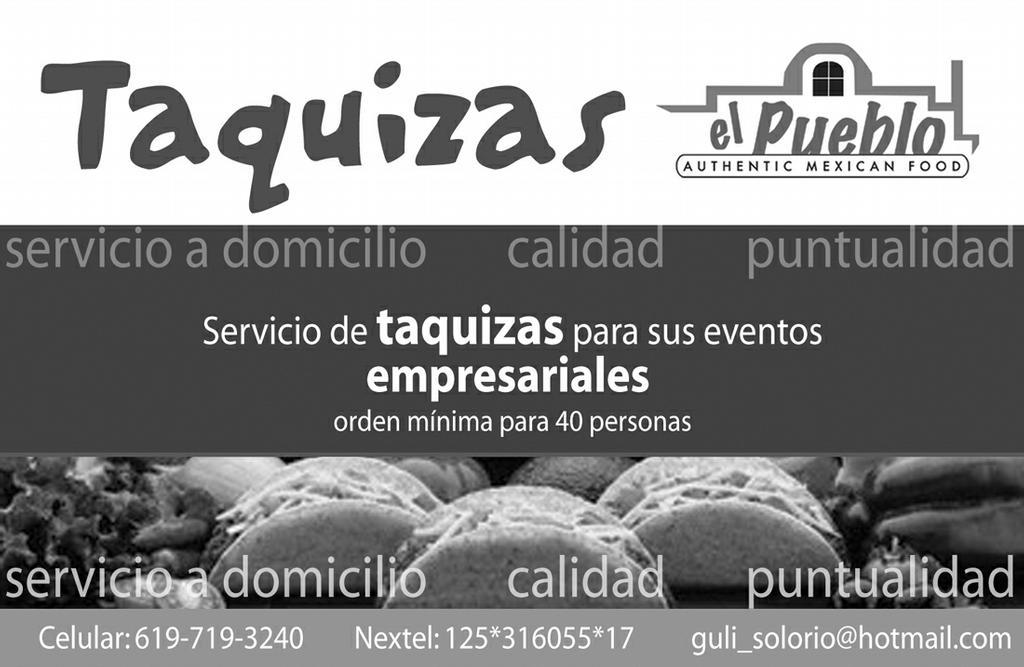 Restaurants Cater Vista Ca