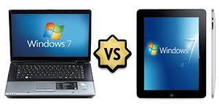 laptop vs tablet computer