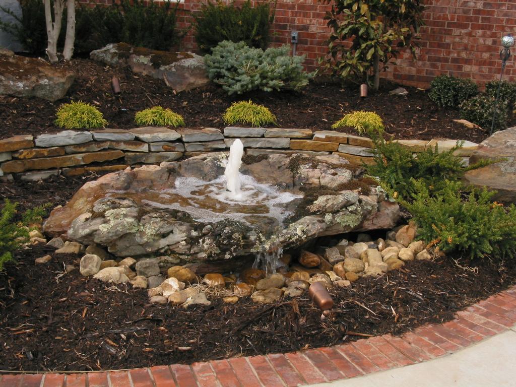 25 Spectacular Small Backyard Landscaping Ideas - SloDive on Rock Garden Waterfall Ideas  id=95429