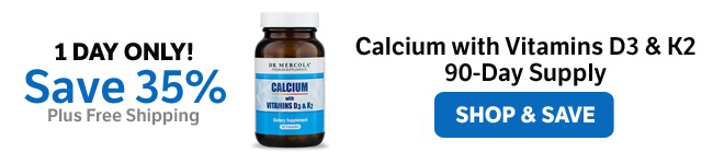 ​Save 35% on a Calcium with Vitamins D3 & K2 90-Day Supply