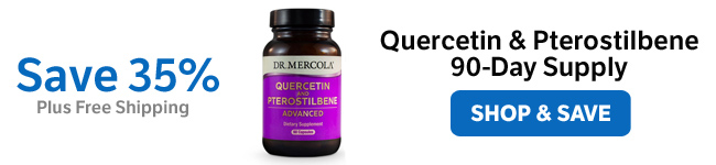 ​Save 35% on Quercetin & Pterostilbene ​90-Day Supply