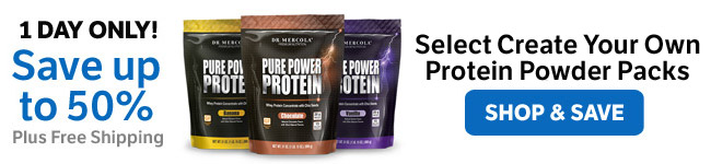 ​Save up to 50% on Select Make Your Own Protein Powder Pack​s