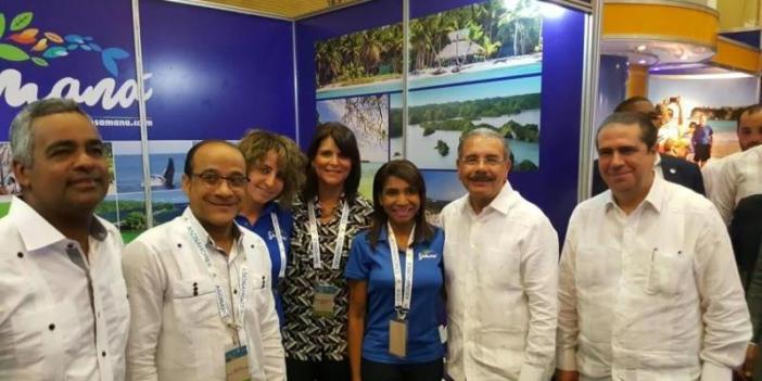 Samaná muestra sus atractivos turístico en el DATE 2017