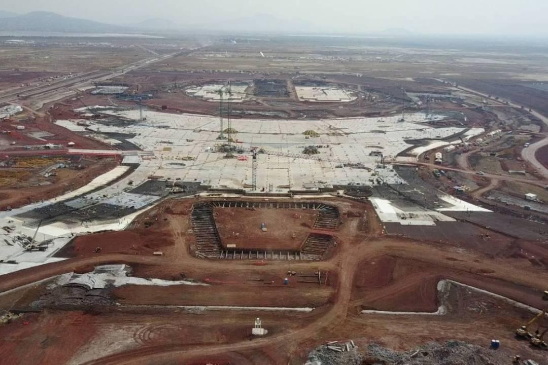 Resultado de imagen para avances Aeropuerto en Texcoco