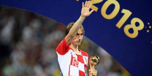 Resultado de imagen para modric balon de oro del mundial
