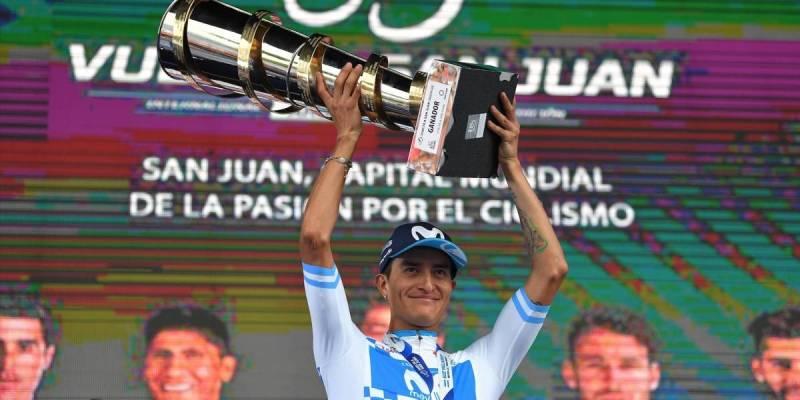 ¡A celebrar! Winner Anacona se coronó campeón de la Vuelta a San Juan