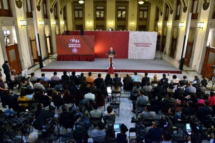 Foros sobre el Plan Nacional de Desarrollo en Palacio Nacional. Foto: Gobierno de México