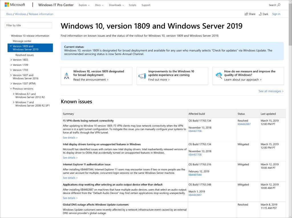 Windows 10 se actualizará en mayo de 2019 incluyendo mayor control a los usuarios sobre estas
