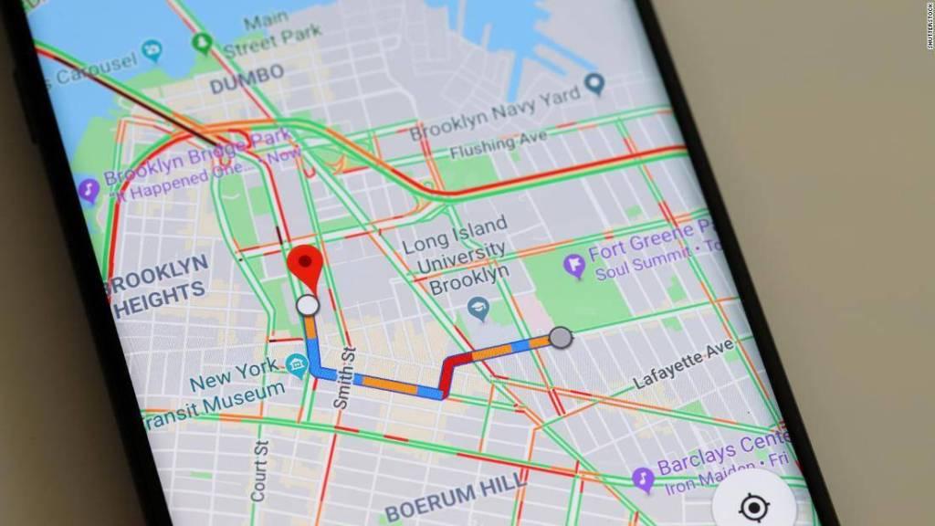 Google Maps Luces