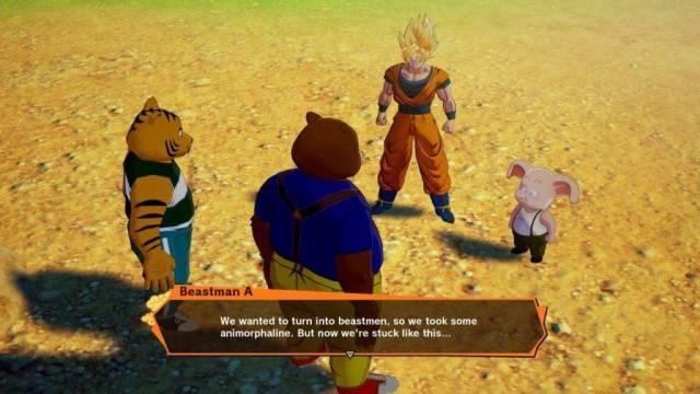 Dragon Ball Z Kakarot Furros